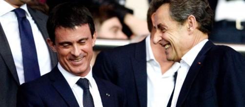 Manuel Valls et Nicolas Sarkozy