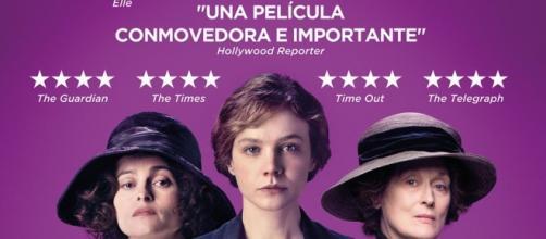 Sufragistas una película sobre el voto femenino