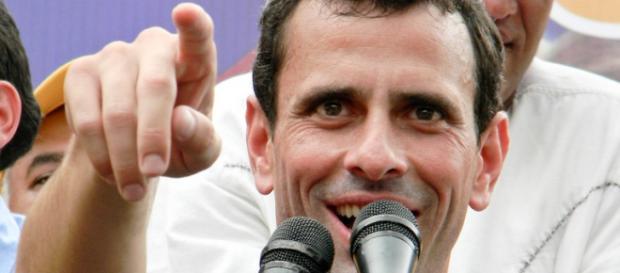 Henrique Capriles, szef wenezuelskiej opozycji