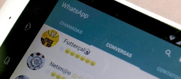 Mensagens no Whatsapp estão bloqueadas