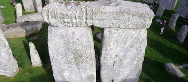 Parte della megastruttura di Stonehenge