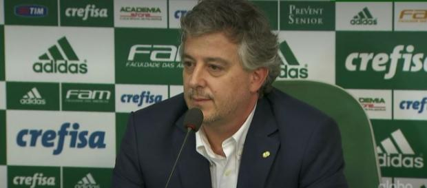 Paulo Nobre, presidente do Alviverde.