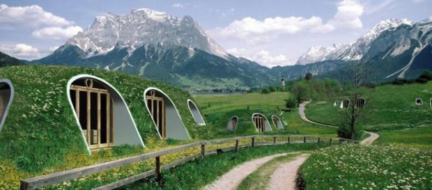 Pessoas estão vivendo nas casas dos hobbits