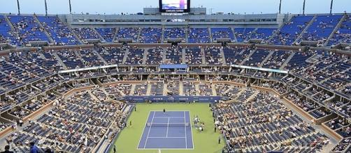 Arthur Ashe Stadium- the main arena at US Open