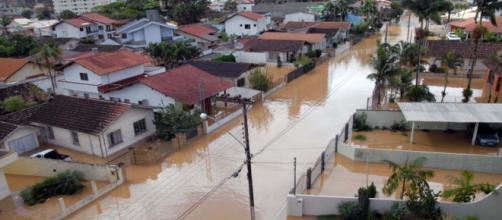 Estado sofreu com enchentes em sua história