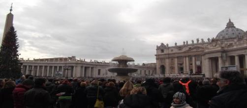Imagen de la Plaza de San Pedro. Vaticano