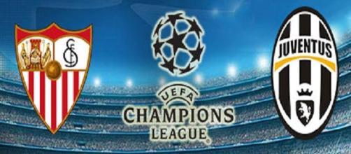 Live Champions League: diretta Siviglia-Juventus.