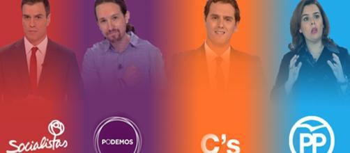 Participantes del debate electoral