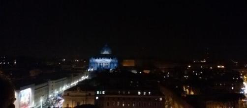 Proyecciones en San Pedro. Vaticano