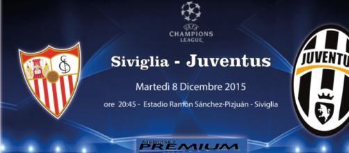 Siviglia-Juventus DIRETTA ore 20.45, 8-12-2015