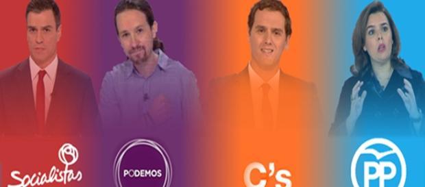 Participantes del debate elctoral
