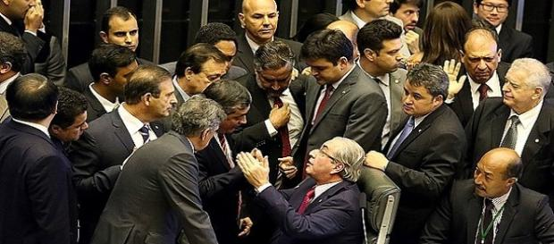 Sessão do Impeachment na Câmara
