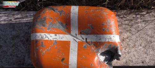 Black box of the Russian plane SU-24.
