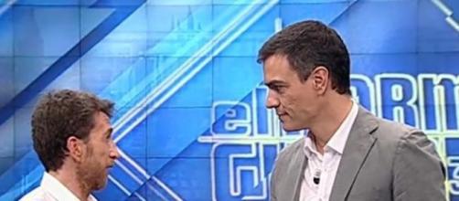 Imagen de Sánchez en el transcurso del programa.