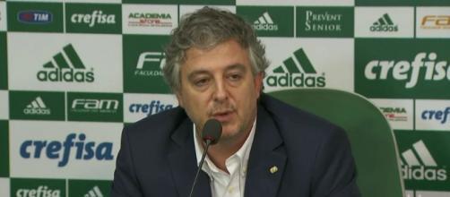 Paulo Nobre, presidente do Palmeiras.