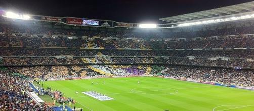 Santiago Bernabeu-Real Madrid arena