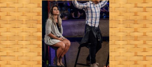 Ana Paula não quer saber de Thiago Servo