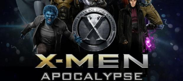 Cartel promocional de X-Men Apocalipsis.
