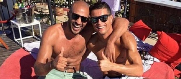 """Cristiano Ronaldo e seu grande """"amigo"""" marroquino"""