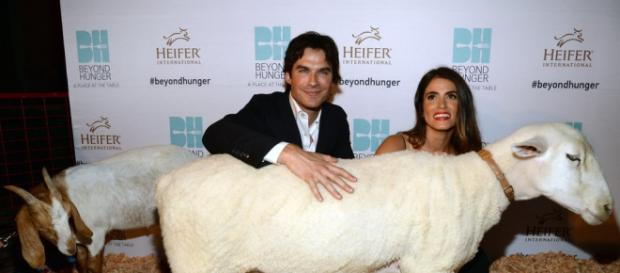 Ian Somerhalder e Nikki Reed (Getty Images)