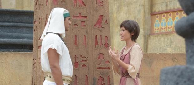 Juliana Didone é Leila em 'Os Dez Mandamentos'