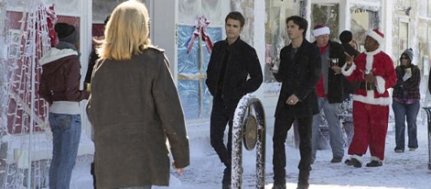 Natal de Damon e Stefan (The CW)