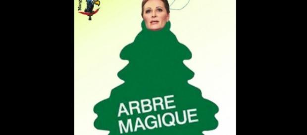 parodie su abito di Daniela Santanché