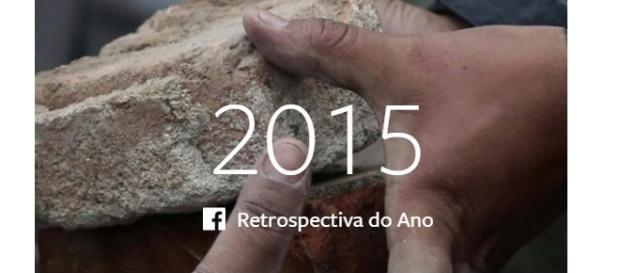 Retrospectiva 2015 - Facebook/Reprodução.