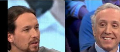 Pablo Iglesias y Eduardo Inda