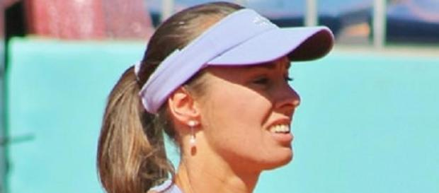 Hingis claimed the mixed-doubles in Melbourne
