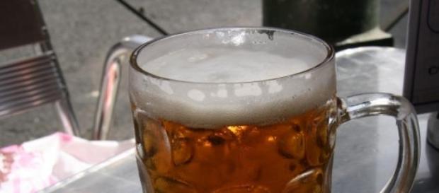 La cerveza es buena para la salud.