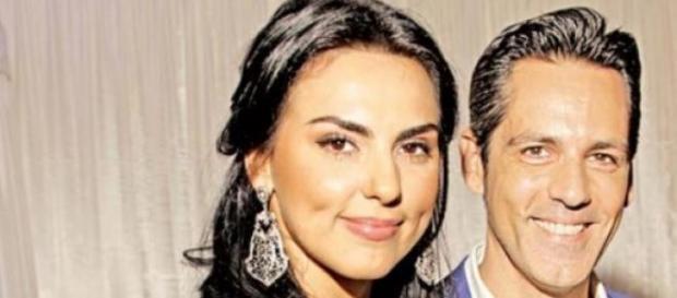 Lavinia Parva si Stefan Banica Junior
