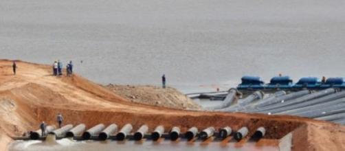 Captação de água do Cantareira (Foto - Reprodução)