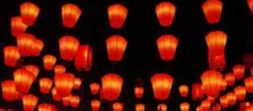 Faroles chinos, atraen la  buena suerte