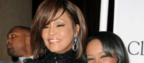 Whitney Houston junto a Bobbi Cristina