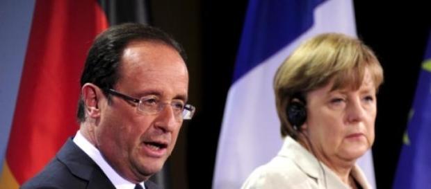 François Hollande et Angela Merkel au sommet.