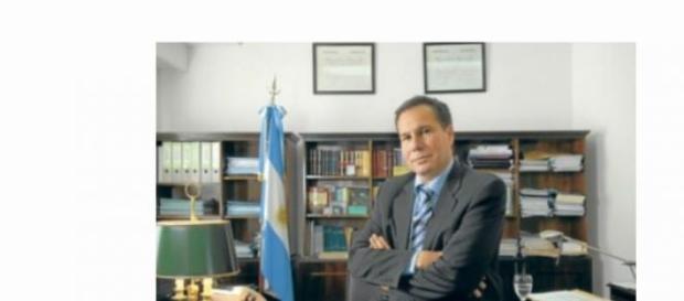 Imagen del fiscal Nisman