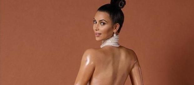 Kim Kardashian, reine du popotin à l'air.