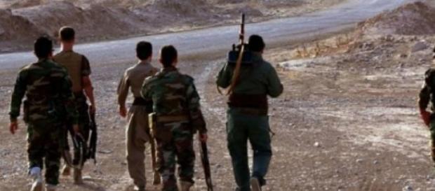 Les combattants kurdes qui font face à l'EI.