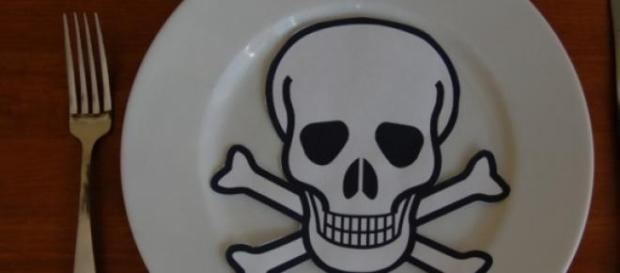 Znak ostrzegawczy informujący o toksyczności
