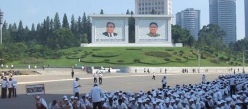 Culto divino a los padres de la patria norcoreana