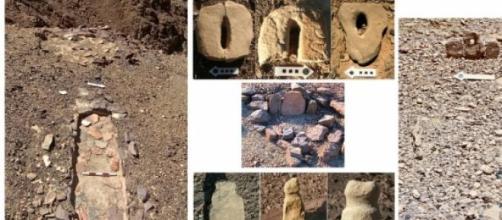 Tallas de penes y vulvas de piedra de 8000 años