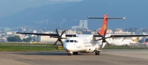 Un aereo della compagnia aerea TransAsia