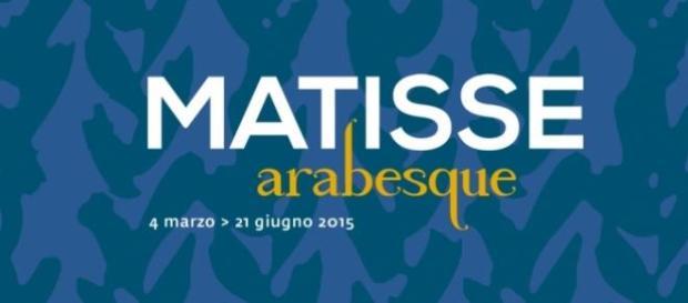 La locandina della mostra di Matisse a Roma