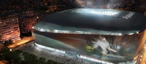 Maqueta del 'nuevo' Santiago Bernabéu