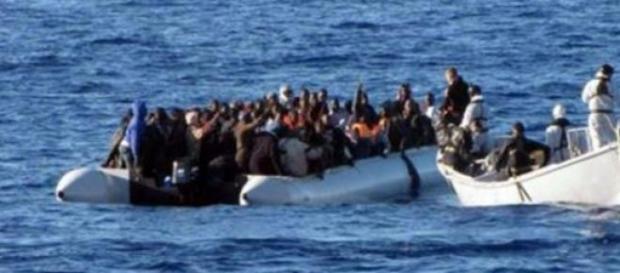 Migrantes en busca de una esperanza