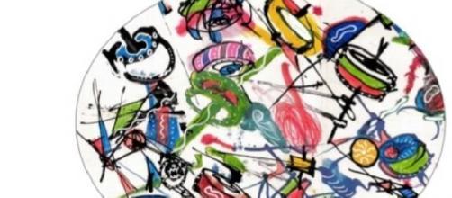 Trentasei segni e colori d'amore: una delle opere