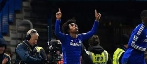 Willian scored the winner in the 89th minute