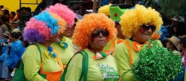 Brasil, país do carnaval.