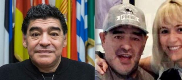 El cambio radical de Diego Maradona